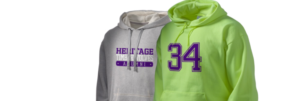 Heritage High School Timberwolves Apparel