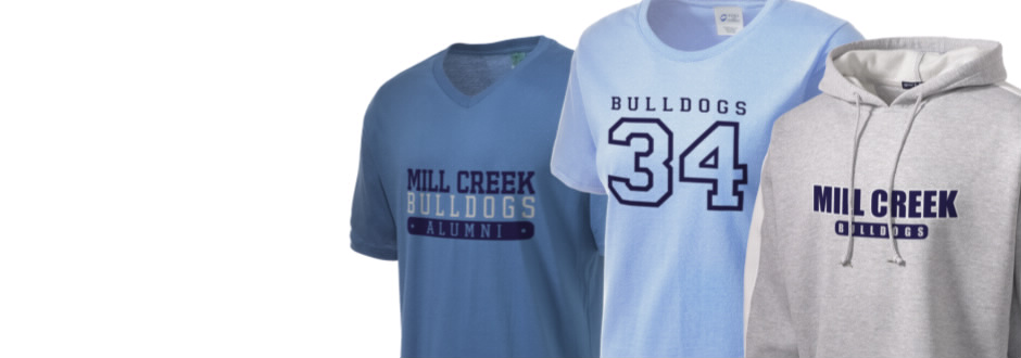 Mill Creek Middle School Bulldogs Apparel
