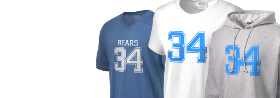 Bret Harte Elementary School Bears Apparel