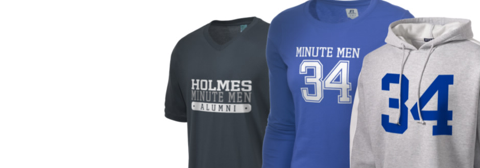 Holmes Junior High School Minute Men Apparel