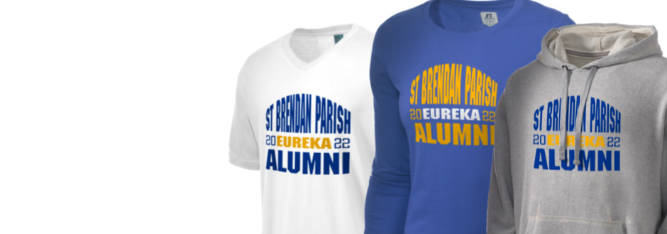 St Brendan Parish Eureka Apparel