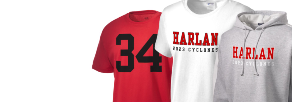 Harlan Community High School Cyclones Apparel