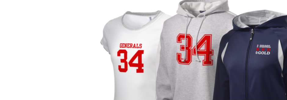 Lee High School Generals Apparel