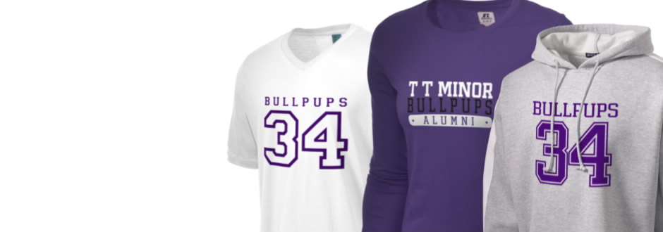 T T Minor Elementary School Bullpups Apparel