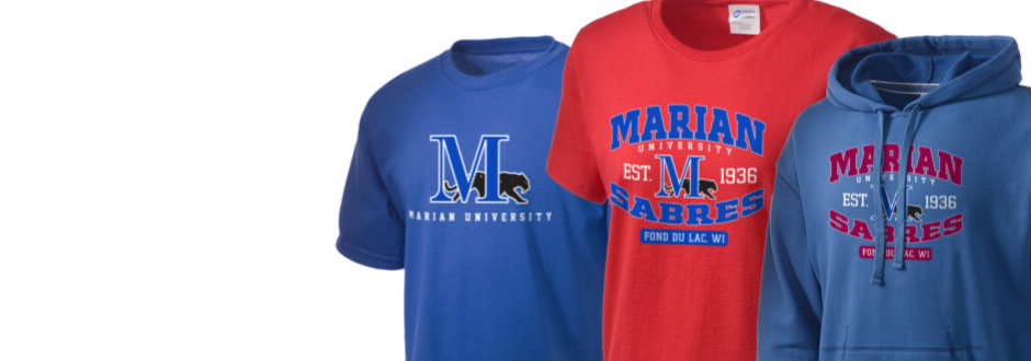 Marian University Sabres Apparel