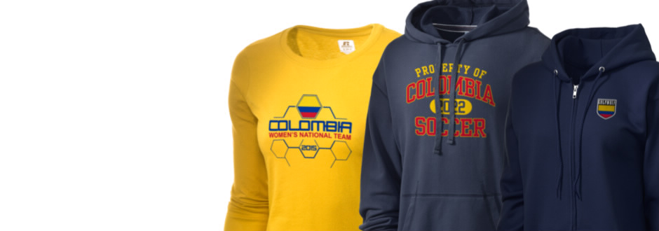 Colombia Soccer Apparel
