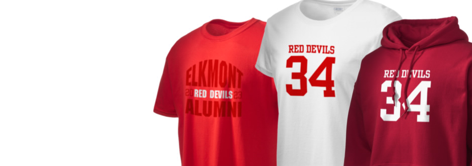 Elkmont High School Red Devils Apparel