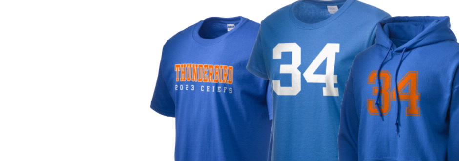 Thunderbird High School Chiefs Apparel