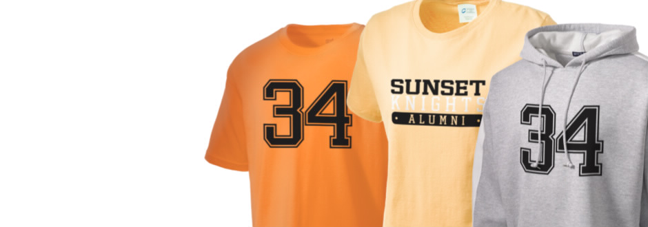 Miami Sunset High School Knights Apparel