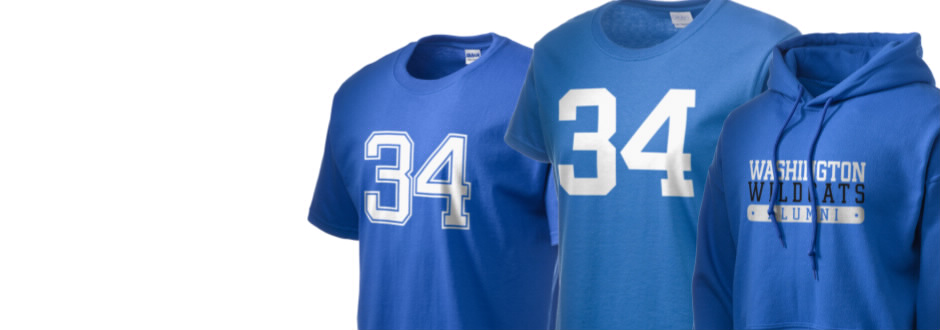 Washington High School Wildcats Apparel