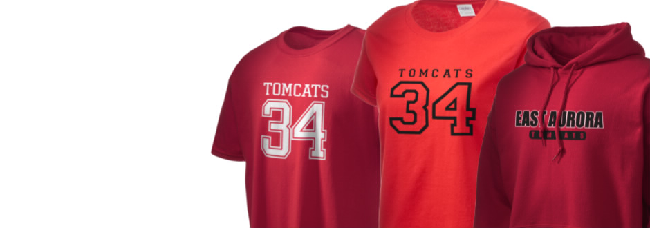 East Aurora High School Tomcats Apparel
