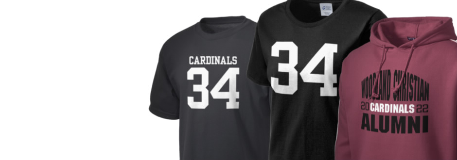 Woodland Christian School Cardinals Apparel