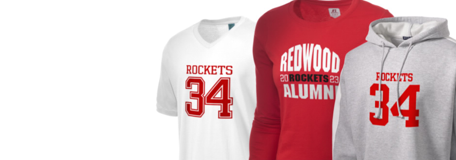 Redwood Elementary School Rockets Apparel