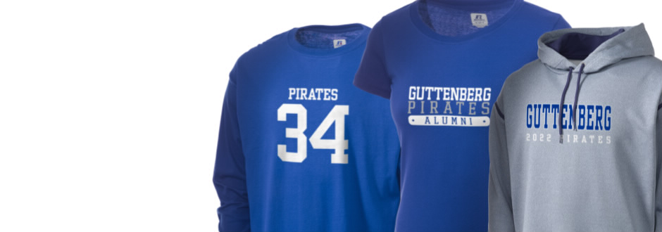Guttenberg Elementary School Pirates Apparel