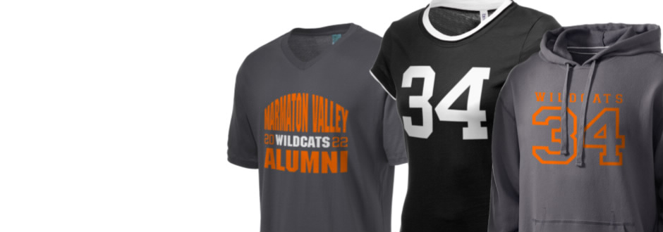 Marmaton Valley High Wildcats Apparel