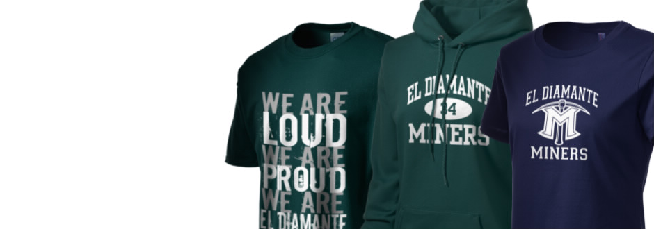 El diamante high school miners apparel store prep sportswear for T shirt printing visalia ca