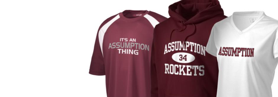 Assumption High School Rockets Apparel Store Prep Sportswear