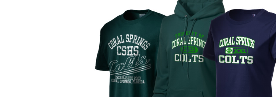 Coral Springs High School Colts Apparel Store Prep