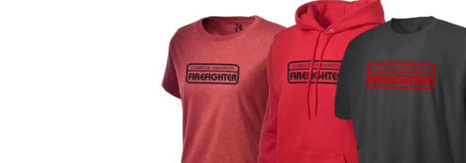 Clemson university fire ems firefighter apparel store for Clemson university t shirts