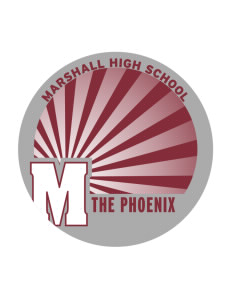 Marshall High School The Phoenix Sticker