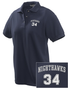 Ironwood Ridge High School Nighthawks Embroidered Women's Pique Polo