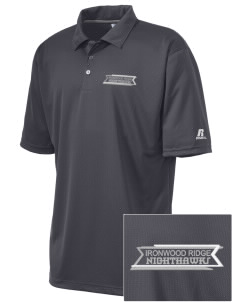Ironwood Ridge High School Nighthawks Embroidered Russell Coaches Core Polo Shirt
