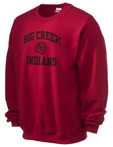 Big Creek Indians Ultra Blend 50/50 Crewneck Sweatshirt