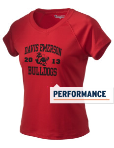 Davis Emerson Middle School Bulldogs Champion Women's Wicking T-Shirt