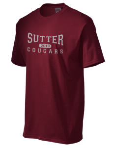 Sutter Middle School Cougars Men's Essential T-Shirt