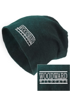 Woodward Middle School Wildcat Embroidered Slouch Beanie