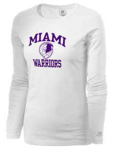 Miami High school Warriors  Russell Women's Long Sleeve Campus T-Shirt