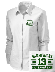 Pajaro Valley High School Grizzlies Embroidered Women's Classic Oxford