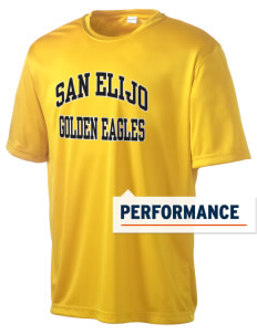 San Elijo Middle School Golden Eagles Men's Competitor Performance T-Shirt