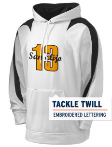 San Elijo Middle School Golden Eagles Holloway Men's Sports Fleece Hooded Sweatshirt with Tackle Twill