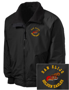 San Elijo Middle School Golden Eagles Embroidered Tall Men's Challenger Jacket