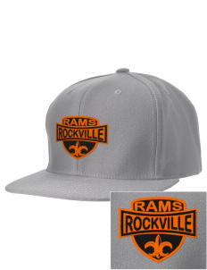 Rockville High School Rams Embroidered D-Series Cap