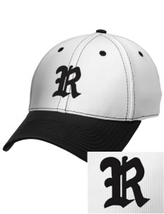 Rockville High School Rams Embroidered New Era Snapback Performance Mesh Contrast Bill Cap