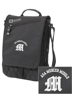 Asa Mercer Middle High Mustangs Embroidered OGIO Module Sleeve for Tablets
