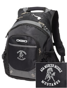 Asa Mercer Middle High Mustangs Embroidered OGIO Fugitive Backpack