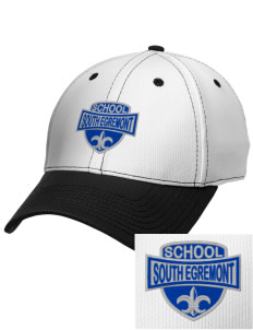 South Egremont School Embroidered New Era Snapback Performance Mesh Contrast Bill Cap