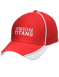 Union High School Titans Embroidered New Era Contrast Piped Performance Cap