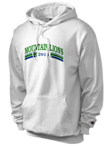 Sonoma Mountain Elementary Mountain Lions Champion Men's Hooded Sweatshirt