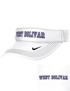 West Bolivar High School Eagles Embroidered Nike Golf Dri-Fit Swoosh Visor