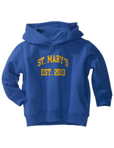 Saint Mary's High School Hilltoppers  Toddler Fleece Hooded Sweatshirt with Pockets