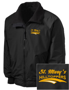 Saint Mary's High School Hilltoppers Embroidered Tall Men's Challenger Jacket