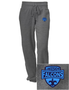 Lakeside Christian Academy FALCONS Embroidered Alternative Women's Unisex 6.4 oz. Costanza Gym Pant