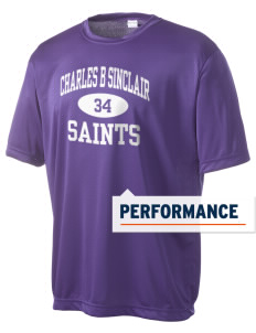 Charles B Sinclair Middle School Saints Men's Competitor Performance T-Shirt