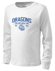 Potomac Heights Elementary School Dragons  Kid's Long Sleeve T-Shirt
