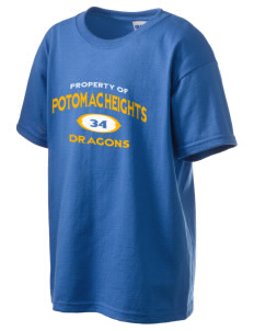 Potomac Heights Elementary School Dragons Kid's 6.1 oz Ultra Cotton T-Shirt