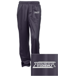 Woodland Hills Elementary School Tigers Embroidered Women's Tricot Track Pants